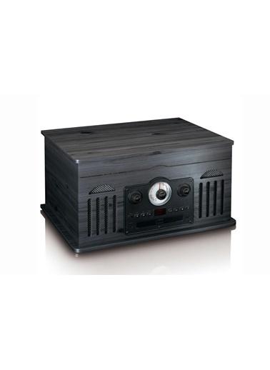 Lenco TCD-2600 Siyah Bluetoothlu Retro Pikap USB CD Radyo Kaset Plak Çalar Renkli